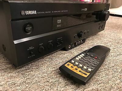 Yamaha Dsp-ax620 Av Surround Sound Hifi Amplifier Cinema Receiver Amp