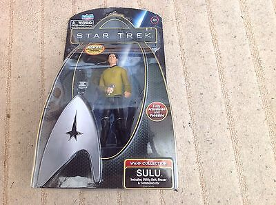 New Star Trek Warp Collection SULU Figure