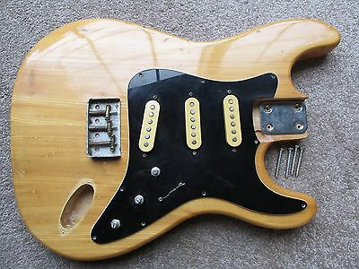 70's MIJ Stratocaster Style Guitar Body Project