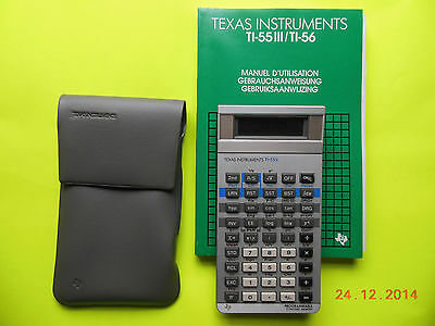 Calculatrice Ancienne Texas Instruments Ti-55Ii - Neuve - Annee 1981