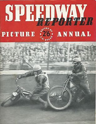Speedway, Speedway Reporter Picture Annual 1949