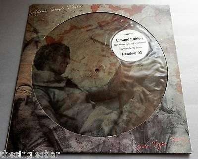 """Stone Temple Pilots - Sex Type Thing UK 1992 WEA 12"""" Picture Disc Single"""