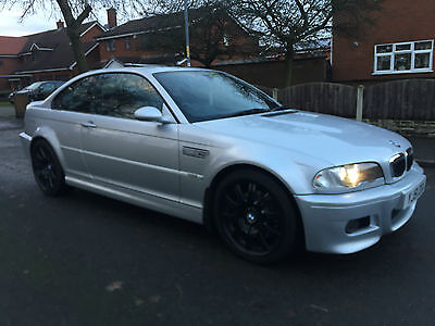 2002 BMW M3 COUPE SMG 79k E46 3.2 SILVER not manual convertible SUNROOF