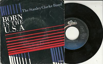"Stanley Clarke Band - Born in the U.S.A. (1985) HOLLAND 7"" > Bruce Springsteen"