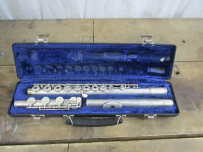Gemeinhardt 3SHB Flute With Solid Silver Head Joint Open Hole