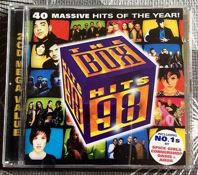 Compilation -The box hits '98 (2cd) originale Vintage 1998