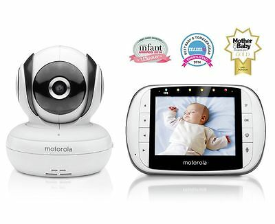 2x Motorola MBP 36S Digital Video Baby Monitor