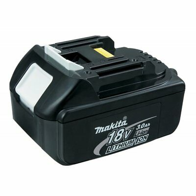 MAKITA 18V 3.0Ah LI-ION BATTERY BL1830B NEW GENUINE POWER INDICATOR LIGHT