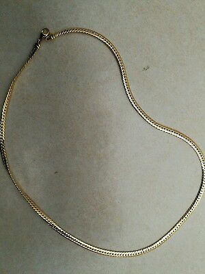 chaine or 18k femme