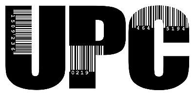 2500 UPC Codes Number Barcode Printable + printable Labels images $2.15