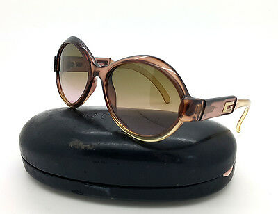 Authent Gucci Oversized Sunglasses Eyewear Gradient Purple brown GG 2476/S 58□17