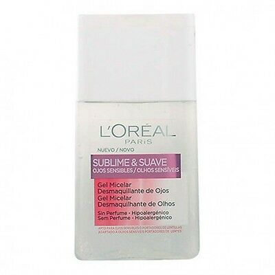 L'Oreal Make Up - SUBLIME&SUAVE micellar gel eyes makeup remover 125 ml