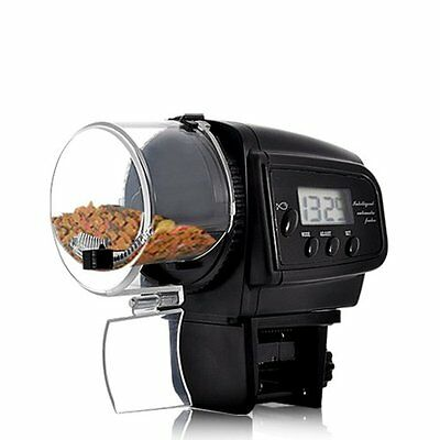 BW Automatic Fish Feeder with LCD Display Anti-Jam Design
