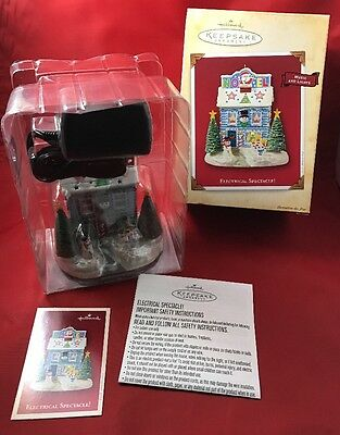 2004 New HALLMARK ELECTRICAL SPECTACLE ORNAMENT NEVER USED MINT IN BOX!!!