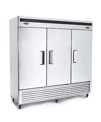 New 3 Door Commercial Reach In Freezer 2 Year Warranty Free Shipping & Lift Gate