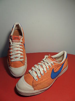 80s NIKE - Made in Taiwan - canvas all court sneakers vintage NO retro trainers