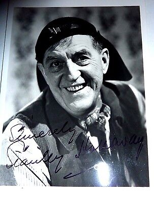 Stanley Holloway Actor Alfred P Doolittle My Fair Lady Signed Vintage photo