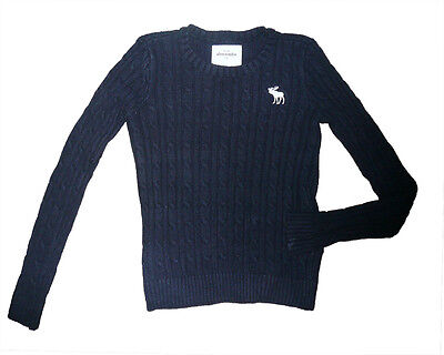 ABERCROMBIE & FITCH girl's angora sweater - size M