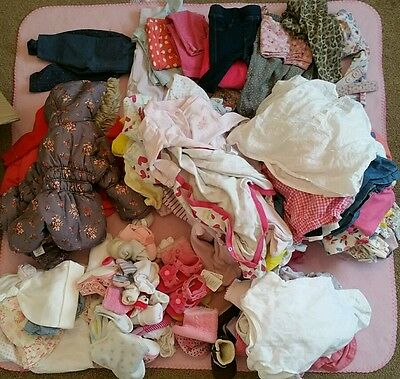 large girls clothes bundle 3-6 months *new items added*