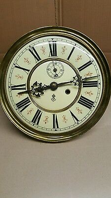 Gustav Becker double weight vienna dial and movement
