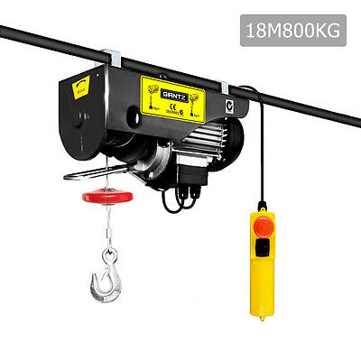 GIANTZ 800KG 1300W Electric Hoist Shed Garage Lift Lifting Hoisting Tool