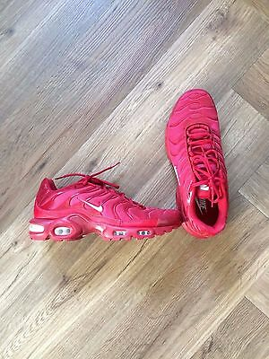 """Nike Air Max Plus Tuned 1 """"Full Red"""" homme - Taille 42,5 US 9"""