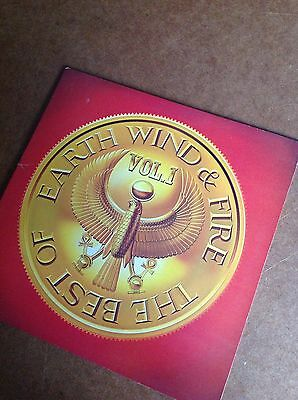 The Best of Earth Wind and Fire Vol. 1 vinyl LP (1978) CBS 83284