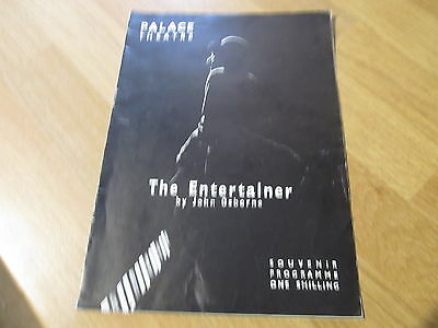 John Osborne The Entertainer with Laurence Oliver 1957 Palace Theatre Programme