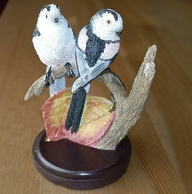 The Country Bird Collection - Long-tailed Tits Figurine/Ornament