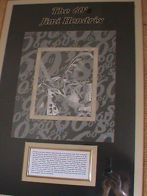 Rare jimmy hendrix Framed Picture