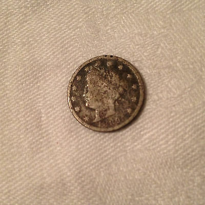 1889 US Liberty Head Nickel Coin