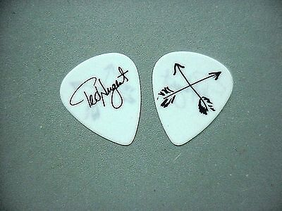Ted Nugent guitar pick Authentic touring pick arrows on white pick!