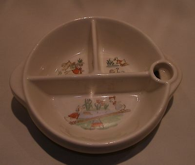 Infant Feeding Dish - Geese on Teeter Totter