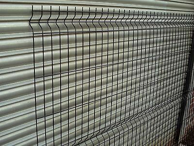 Black Mesh Fencing Panels Posts And Fittings