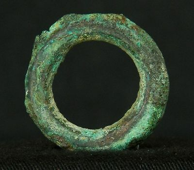BEAUTIFUL  ! Chalcolithic Copper RING - 27 mm diameter - Sahara