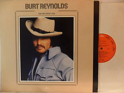 Burt Reynolds - Ask Me What I Am - LP 1973 US - Mercury SRM-1-693