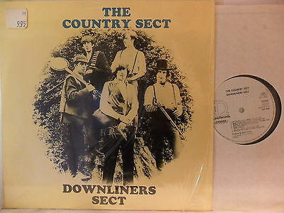Downliners Sect - Country Sect - LP 1982 D - Line LLP 5162 + Textinsert!