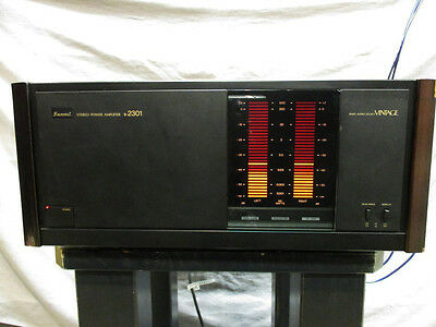 SANSUI B-2301 1983 MIJ Transistor Power amplifier Perfect Working Made in Japan