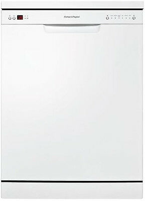 Fisher & Paykel - 60cm Freestanding Dishwasher, White DW60CHPW1
