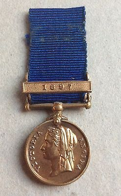 Jubilee Police Miniature Medal With Clasp 1897