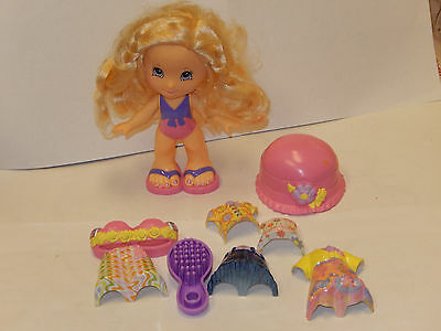 Mattel Fisher Price Snap N Style clip on, Dolls shoes Cloths lot