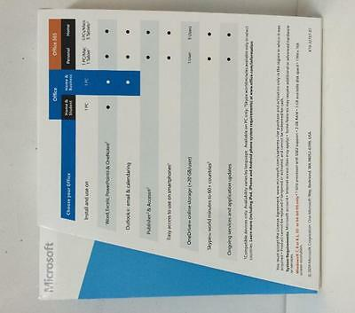 Microsoft Office Home and Business 2013 - 32/64bit (DVD)