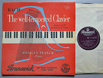 Axtl 1037. Rosalyn Tureck - Bach - Well Tempered Clavier - Part 2 - Mono Uk Rare