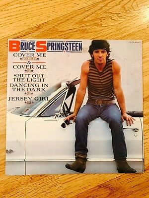 Bruce Springsteen - Cover Me 12 Inch Record Rare 1984