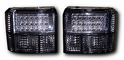 Vw Transporter & Caravelle T4 Led Rear Tail Lights - Black