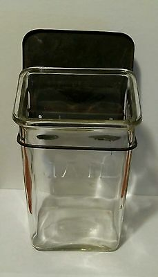 Antique Glass Mail Box Vintage Mail Box