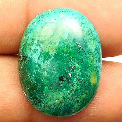 24.30 cts Natural Nice Turquoise Gemstone Oval Shape Loose Cabochon For Jewelry