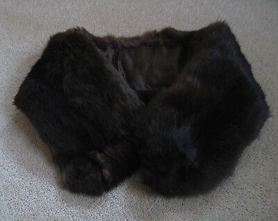 Vintage Real Fur Collar/Scarf