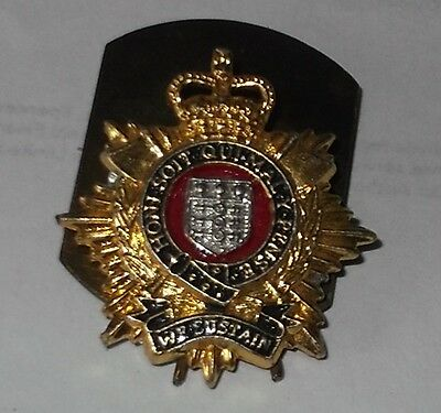 Staybrite British Military Collar Badge - Royal Logistics Corps
