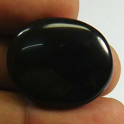 27.55 cts 100% Natural Rainbow Obsidian Oval Shape Gemstone Cabachon